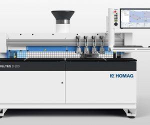 CNC stroj za vrtanje in zabijanje moznikov DRILLTEQ D-200